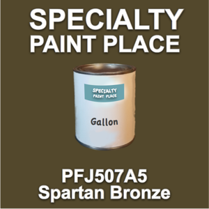 PFJ507A5 Spartan Bronze - Axalta - Gallon Can