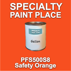 PFS500S8 Safety Orange - Axalta - Gallon Can
