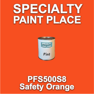 PFS500S8 Safety Orange - Axalta - Pint Can