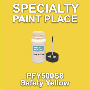 PFY500S8 Safety Yellow - Axalta - 2oz Bottle with Brush