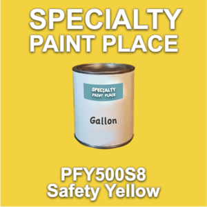 PFY500S8 Safety Yellow - Axalta - Gallon Can