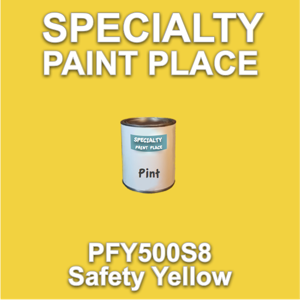 PFY500S8 Safety Yellow - Axalta - Pint Can