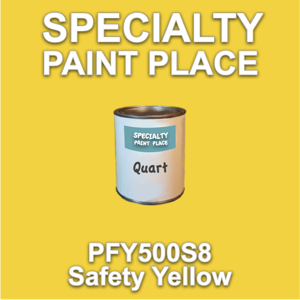 PFY500S8 Safety Yellow - Axalta - Quart Can