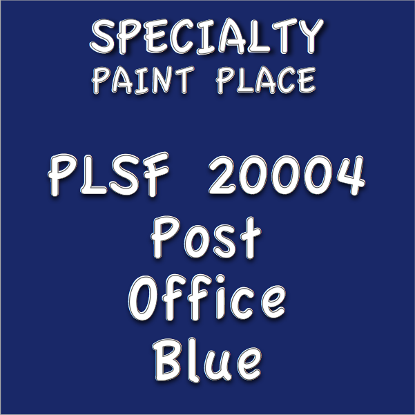 PLSF20004 post office blue