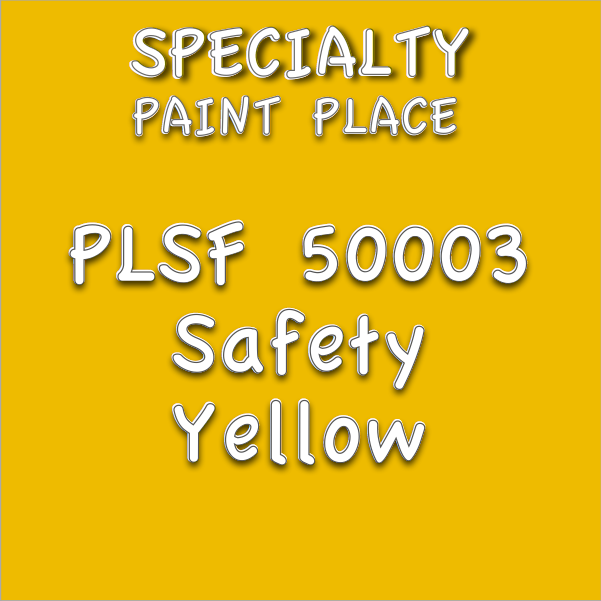 PLSF50003 safety yellow