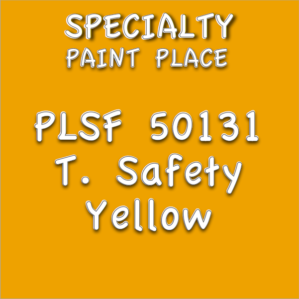 PLSF50131 t safety yellow