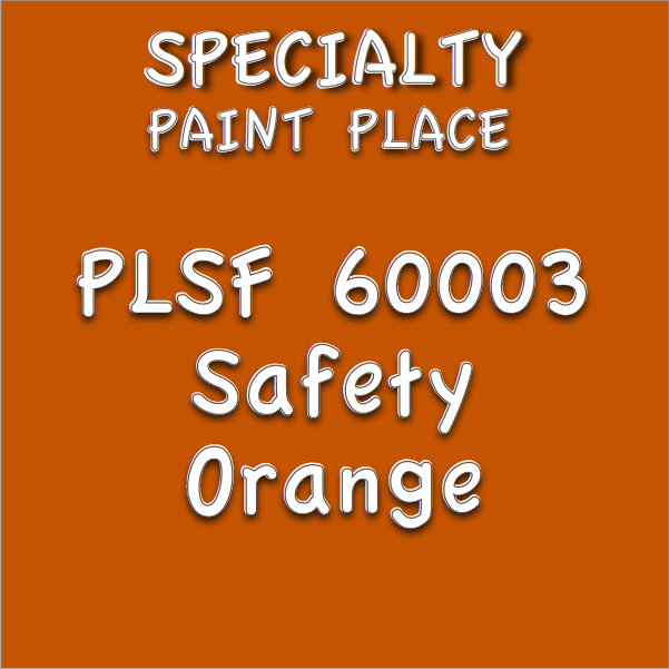 PLSF60003 safety orange