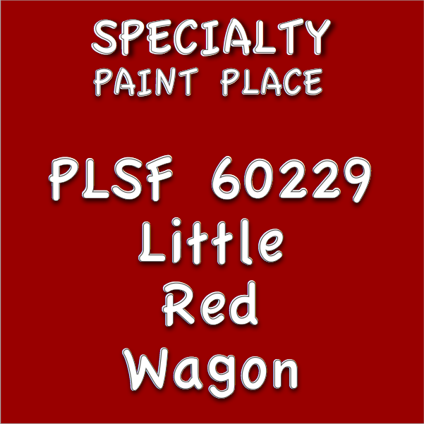 PLSF60229 little red wagon