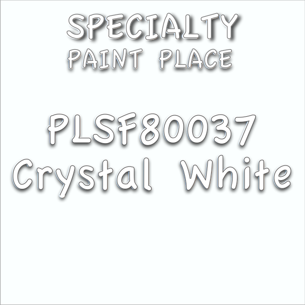 PLSF80037 crystal white