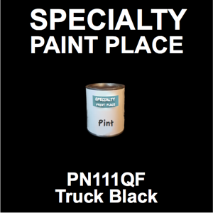 PN111QF Truck Black - AkzoNobel - Pint Can