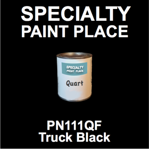 PN111QF Truck Black - AkzoNobel - Quart Can