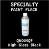 QN005QF High Gloss Black 16oz Aerosol Can