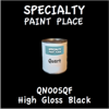 QN005QF High Gloss Black Quart Can