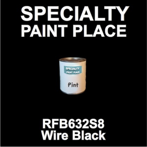 RFB632S8 Wire Black - Axalta - Pint Can