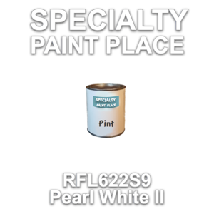 RFL622S9 Pearl White II - Axalta - Pint Can