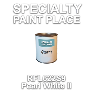 RFL622S9 Pearl White II - Axalta - Quart Can