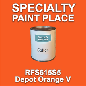 RFS615S5 Depot Orange V - Axalta - Gallon Can