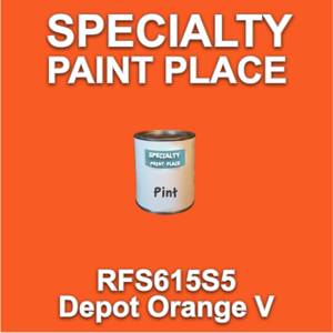 RFS615S5 Depot Orange V - Axalta - Pint Can