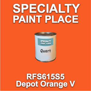 RFS615S5 Depot Orange V - Axalta - Quart Can