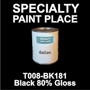 T008-BK181 Black 80 Gloss - Cardinal - Gallon Can