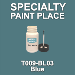 T009-BL03 Blue - Cardinal - 2oz Bottle with Brush