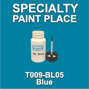 T009-BL05 Blue - Cardinal - 2oz Bottle with Brush