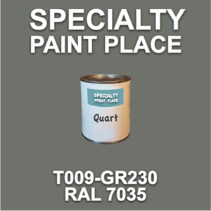 T009-GR230 RAL7035 - Cardinal - Quart Can