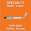 T009-OG01 Safety Orange Pen