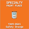T009-OG01 Safety Orange Pint Can