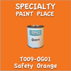 T009-OG01 Safety Orange Quart Can