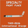 T009-OG26 International Orange Pen