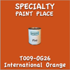 T009-OG26 International Orange Pint Can