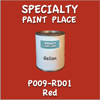 T009-RD01 Red Gallon Can