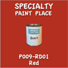 T009-RD01 Red Quart Can