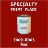 T009-RD03 Red Gallon Can