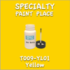 T009-YL01 Yellow 2oz Bottle with Brush