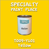 T009-YL01 Yellow Gallon Can