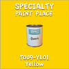 T009-YL01 Yellow Quart Can