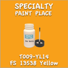 T009-YL14 FS 13538 Yellow 2oz Bottle with Brush