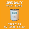 T009-YL14 FS 13538 Yellow Gallon Can