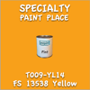 T009-YL14 FS 13538 Yellow Pint Can