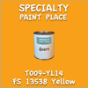 T009-YL14 FS 13538 Yellow Quart Can