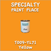 T009-YL71 Yellow Pint Can