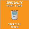 T009-YL71 Yellow Quart Can