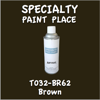 T032-BR62 Brown 16oz Aerosol Can