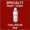 T241-RD129 Red 16oz Aerosol Can