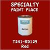 T241-RD129 Red Gallon Can