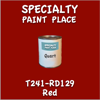 T241-RD129 Red Quart Can