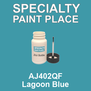 AJ402QF Lagoon Blue - AkzoNobel 2oz bottle