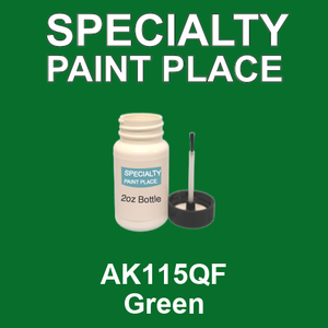 AK115QF Green - AkzoNobel 2oz bottle